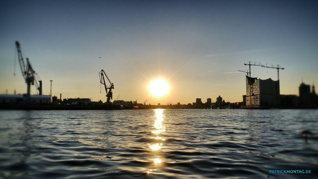 Hamburg Elbe / Hafen